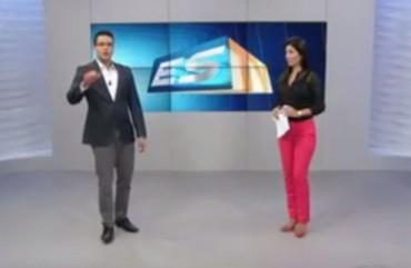 Sindipol/ES denuncia precariedades no pátio de Alterosas – ESTV 1ª Ed.