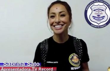 Sabrina Sato manda recado aos Policiais Civis