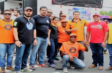 POLICIAIS CIVIS DO ES PARTICIPAM DE MANIFESTAÇÃO E EXIGEM RESPEITO AOS TRABALHADORES BRASILEIROS