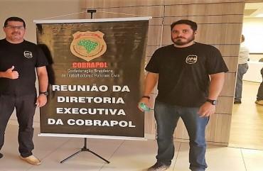 CARAVANA PARA BRASÍLIA: POLICIAIS CIVIS MARCAM FORTE PRESENÇA