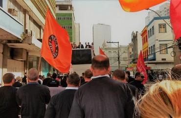 SINDIPOL/ES PARTICIPA DE PROTESTO DE MAGISTRADOS EM VITÓRIA