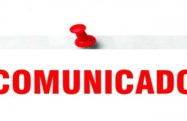 COMUNICADO: HORÁRIO DE FUNCIONAMENTO