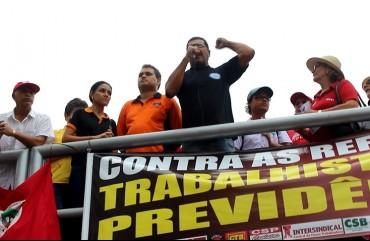 NA VÉSPERA DO DIA DO TRABALHADOR, PRESIDENTE DO SINDIPOL/ES ALERTA PARA OS PERIGOS NAS REFORMAS TRABALHISTA E PREVIDENCIÁRIA