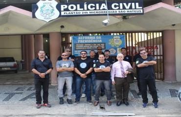 DENÚNCIA DO SINDIPOL/ES REPERCUTE NA IMPRENSA