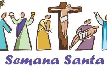 SEMANA SANTA: CELEBRAÇÃO DA PAIXÃO, A MORTE E A RESSURREIÇÃO DE JESUS CRISTO.