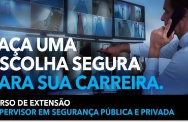 CURSO DE EXTENSÃO EM SEGURANÇA PÚBLICA E PRIVADA