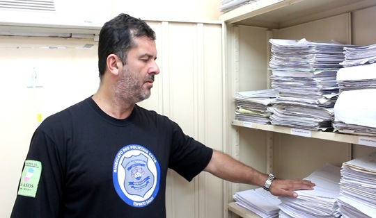 Sobrecarga de trabalho x efetivo defasado: a DPCA já possui 19 policiais para uma demanda de 4.000 procedimentos instaurados