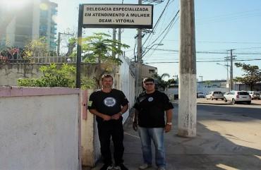 SINDIPOL/ES FAZ INSPEÇÃO NA DELEGACIA DA MULHER DE VITÓRIA