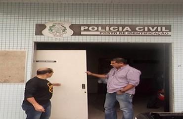 SINDIPOL/ES INSPECIONA POSTO DE IDENTIFICAÇÃO DE GUARAPARI