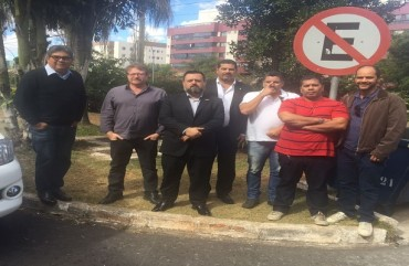 PRESIDENTE DO SINDIPOL/ES PARTICIPA DE REUNIÃO COM DIRETORES DA FERPOL E SINPOL/DF