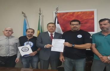 DIRETORIA DO SINDIPOL/ES SE REÚNE COM CHEFE DE POLÍCIA