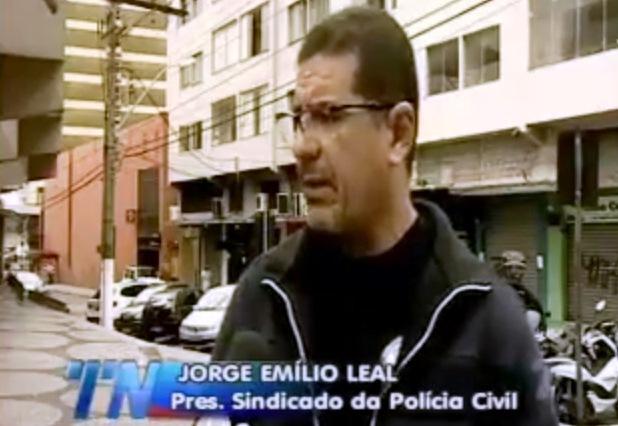 Presidente do Sindipol/ES denunciou precariedade.