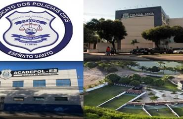 CURSO DE SUBMETRALHADORA E ESPINGARDA PARA POLICIAIS CIVIS NO ESTANDE DE TIRO DO SINDIPOL/ES