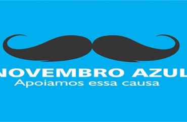 NOVEMBRO AZUL: PARTICIPE DESTA CAMPANHA