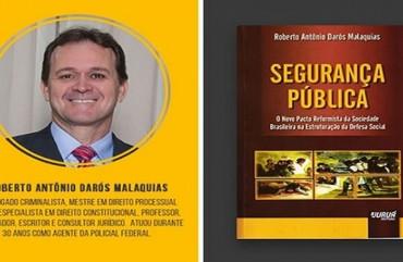 POLICIAL FEDERAL CAPIXABA LANÇA LIVRO SOBRE SEGURANÇA PÚBLICA