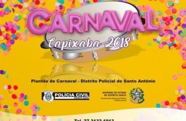 CARNAVAL DE VITÓRIA: POLÍCIA PRIORIZA REFORÇO NA REGIÃO