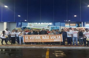 DIA DE LUTA: SINDIPOL/ES PARTICIPA DE ATO PÚBLICO EM VITÓRIA