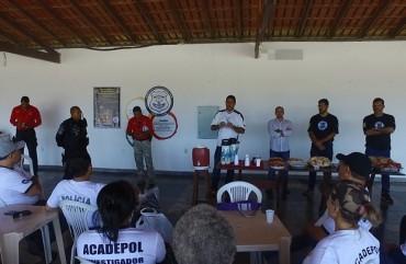 NOVOS INVESTIGADORES PARTICIPAM DE CAPACITAÇÃO NO SINDIPOL/ES