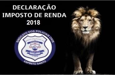 FAÇA SUA DECLARAÇÃO DE IMPOSTO DE RENDA NO SINDIPOL/ES