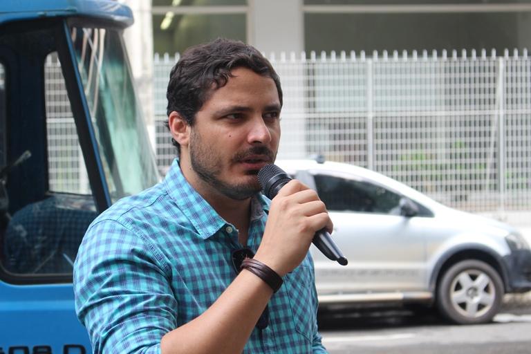 Humberto Mileip, vice-presidente do Sindipol/ES.