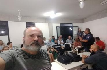 SINDIPOL/ES PARTICIPA DE REUNIÃO SOBRE SEGURANÇA, EM VITÓRIA