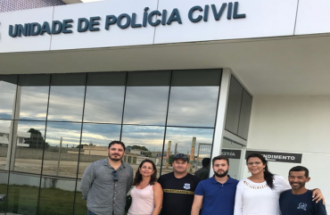 INSPEÇÃO SINDICAL NA DELEGACIA DE POLÍCIA DE PEDRO CANÁRIO