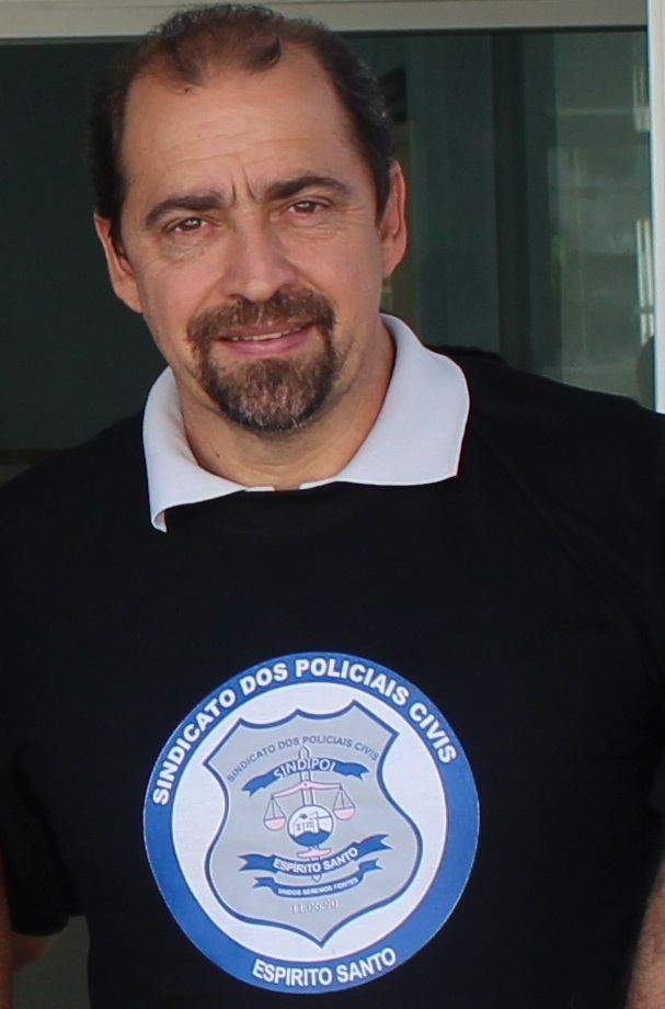 Aloísio Duboc, Diretor Financeiro do Sindipol/ES.