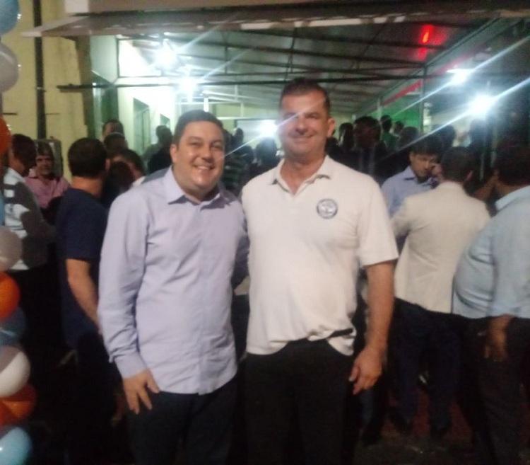Bruno Lamas (esq.) e Edimar Vieira (dir.)