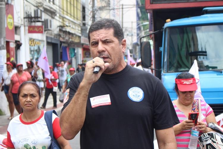 Jorge Emílio Leal, presidente do Sindipol/ES.