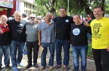 SOB CONTROLE? SERVIDORES PÚBLICOS PROTESTAM, EM VITÓRIA