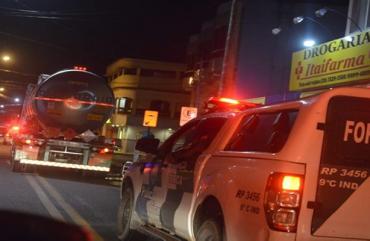 ESCOLTA DE CAMINHÕES-TANQUE PODE PREJUDICAR POLICIAMENTO NO ES