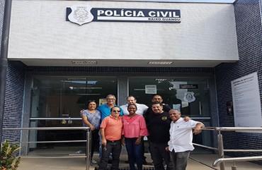 SINDIPOL/ES: INSPEÇÃO SINDICAL EM BAIXO GUANDU