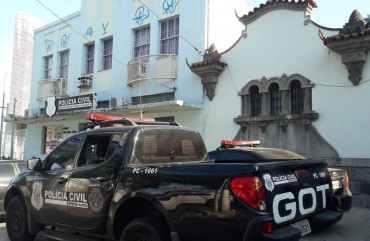 MAIS UMA DELEGACIA É ARROMBADA NO ES E BANDIDOS ROUBAM ARMAS DA POLÍCIA CIVIL