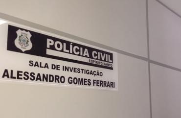 SALA DE INVESTIGAÇÃO RECEBE O NOME DE INVESTIGADOR QUE FOI ASSASSINADO