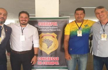 SINDIPOL/ES PARTICIPA DE CONGRESSO NACIONAL DOS POLICIAIS CIVIS