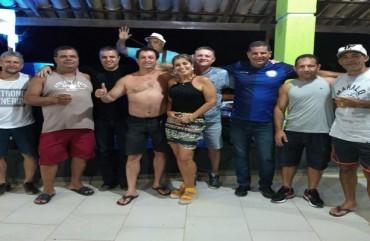 SINDIPOL/ES PARTICIPA DE FESTA PARA POLICIAIS CIVIS NO SUL DO ESTADO