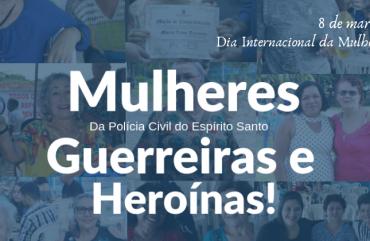 08 DE MARÇO: DIA INTERNACIONAL DA FORÇA FEMININA