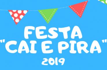 """ANOTE NA AGENDA: DIA 15 DE JUNHO TEM FESTA """"CAI E PIRA"""" NO SINDIPOL/ES"""