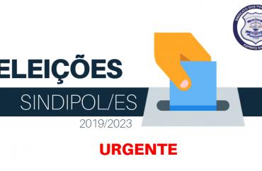 JUSTIÇA NEGA PEDIDO E CHAPA 2 ESTÁ FORA DA ELEIÇÃO DO SINDIPOL/ES