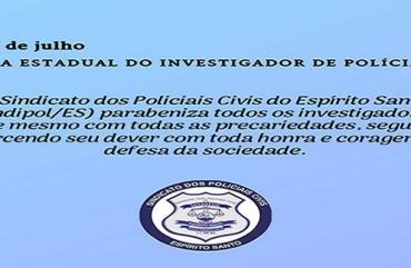 28 DE JULHO: DIA ESTADUAL DO INVESTIGADOR