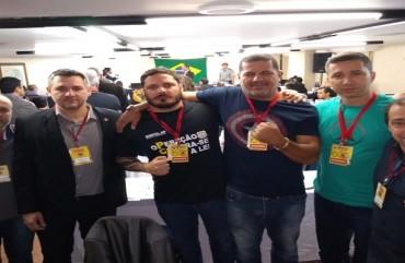 SINDIPOL MARCA PRESENÇA NO CONGRESSO EXTRAORDINÁRIO DA COBRAPOL EM BRASÍLIA