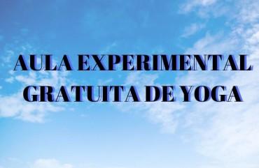 AULA EXPERIMENTAL GRATUITA DE YOGA NO SINDIPOL/ES