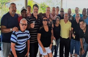 LENDAS DA POLICIA CIVIL DO ESPÍRITO SANTO SE REENCONTRAM NA SEDE DO SINDIPOL/ES