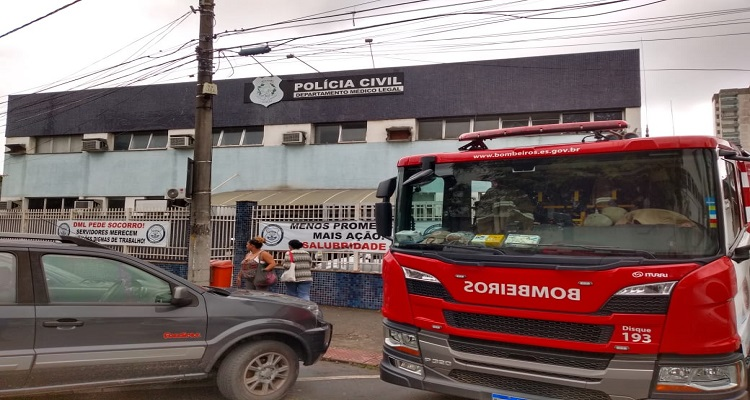 INCÊNDIO REFORÇA DENÚNCIA DE PRECARIEDADE DO DML DE VITÓRIA
