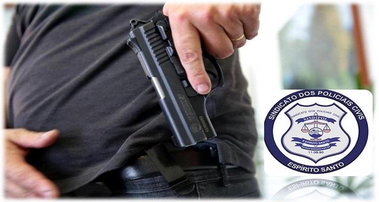 PEDIDO DO SINDIPOL/ES GARANTE PORTE DE ARMA PARA POLICIAIS CIVIS APOSENTADOS