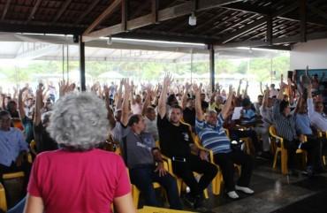 POLICIAIS APROVAM PROPOSTA DE RECOMPOSIÇÃO SALARIAL EM ASSEMBLEIA