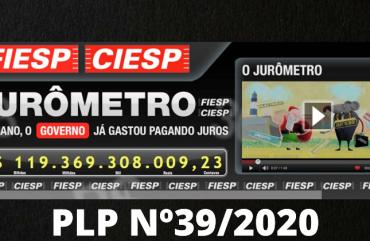 CONGELAMENTO DE SALÁRIO X LUCROS E JUROS: PLP 39/2020 SEGUE PARA SANÇÃO PRESIDENCIAL
