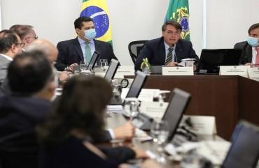 BOLSONARO GANHA APOIO DE GOVERNADORES PARA CONGELAR SALÁRIOS DOS SERVIDORES PÚBLICOS
