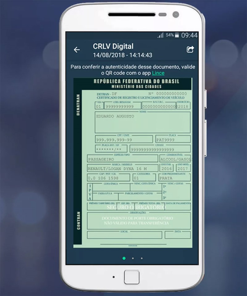 CRLV-digital detran